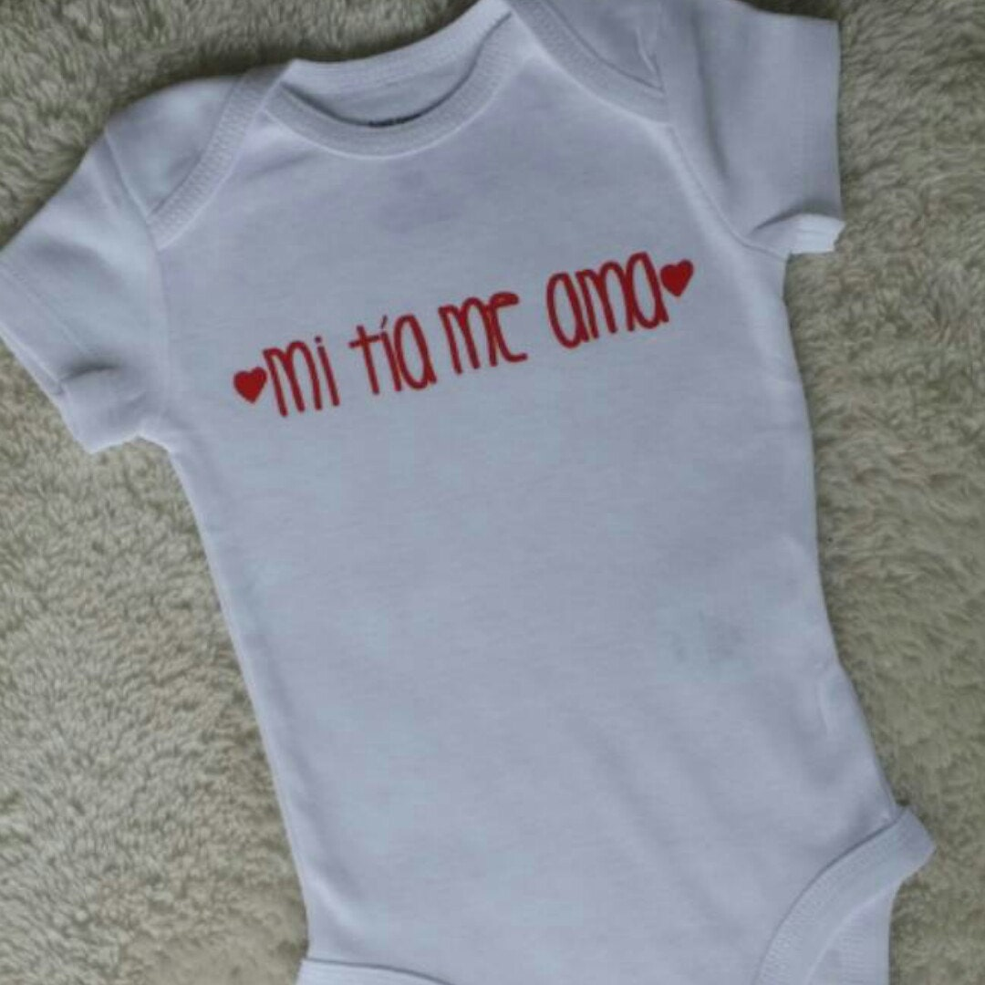 Spanish Baby Clothes Spanish Baby Outfits Kids TShirts My