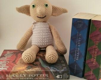 Dobby the House Elf - Winky - Dobby and Winky Doll - Dobby Is A Free Elf - Dobby Amigurumi - Dobby House Elf - Harry Potter Elf