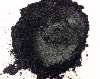 BLACK PEARL Mineral Eye Shadow - Natural Mineral Makeup - Gluten Free Vegan Face Color