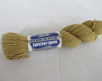 Vintage Bucilla Tapestry Wool, 100% Pure Virgin Wool, Color 2068
