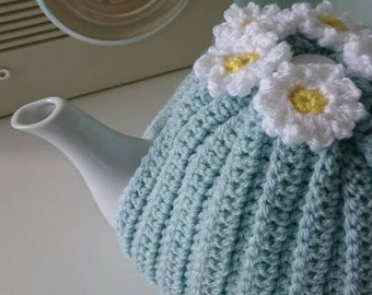 Handmade Ribbed Tea Cosy