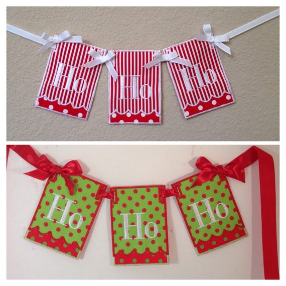 Items similar to price reduced sale clearance ho ho ho for Christmas decorations clearance