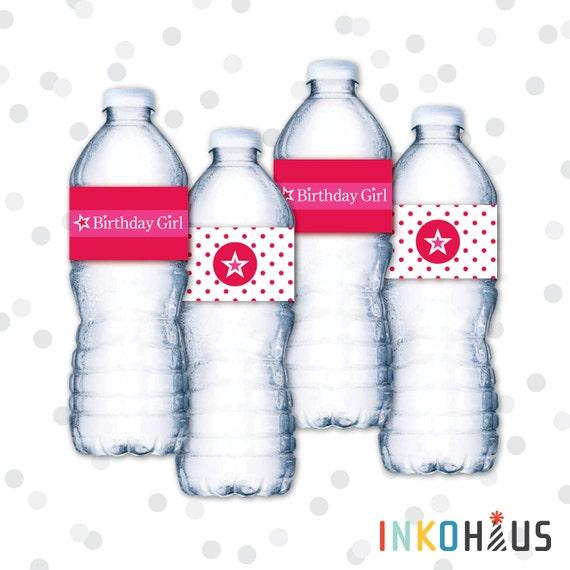 Pink water bottle - 1 1