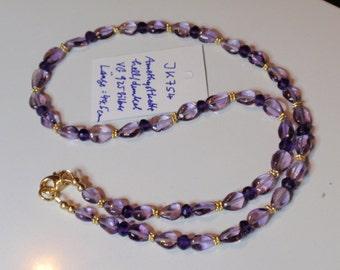 Amethyst Necklace  (JK 381)