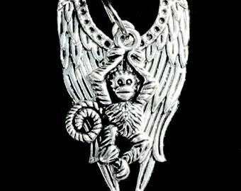 Flying Monkey Necklace