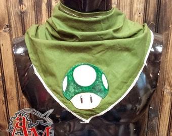 GreenMushroom of Mario Geek Scarf