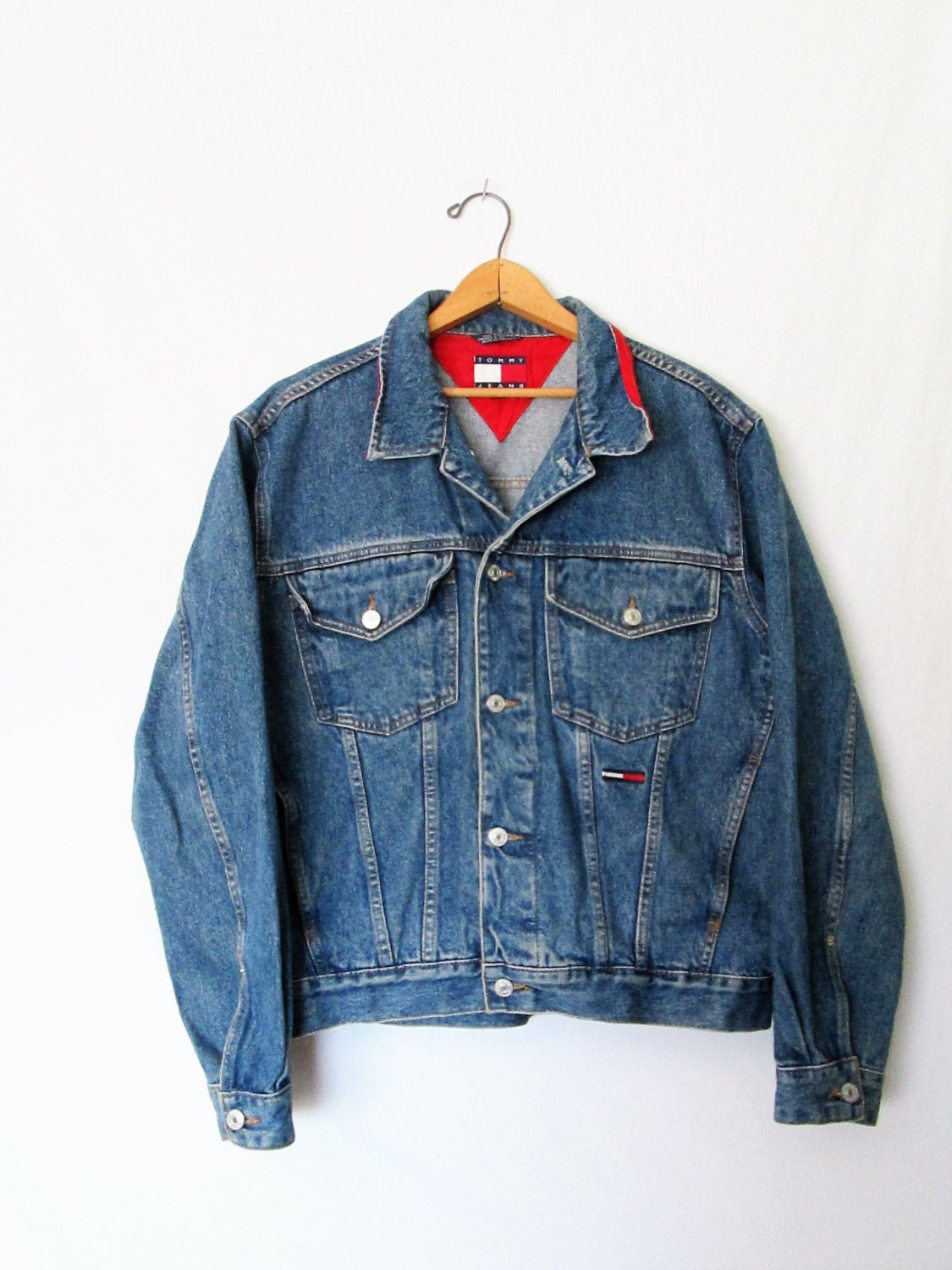 Vintage 1990s Tommy Hilfiger Denim Jacket