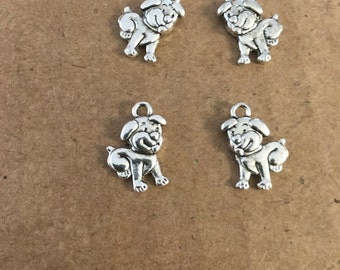 Cute puppy dog charms (10 pieces)