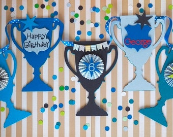 Trophy bunting for boys - price per pennant
