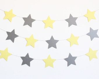 Star Baby Shower Party Banner - Customizable Colors