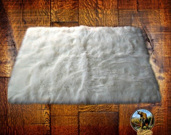 Fur Accents Premium Shag Faux Fur Area Rug - Sheepskin - Toss Rug - Soft Shaggy Shag - Accent Throw Carpet - Rectangle