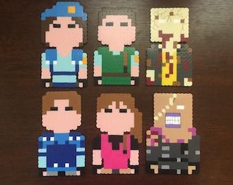 Resident Evil magnets|handmade|choose1|Zombie magnet|Resident Evil cake topper|Zombie cake topper|Jill Valentine|Leon|Nemesis|Halloween