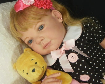Chloe by Ann Timmerman Custom Reborn Toddler Doll Little Darlins Nursery Rita Meese Artist