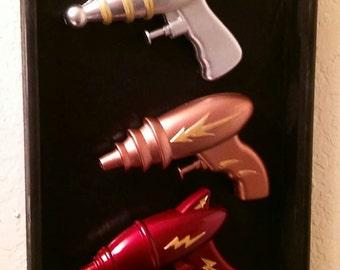 Flash Gordon inspired Raygun Wall Art