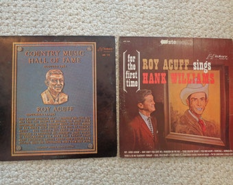 Set of Two ROY ACUFF LP's (#2063)