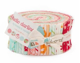 Hello Darling Jelly Roll by Bonnie & Camille for Moda Fabrics
