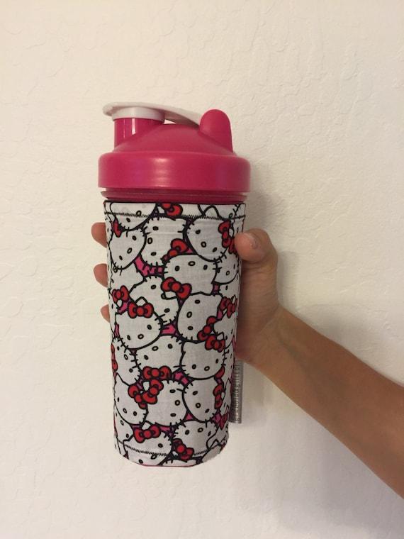 Kitty In A Blender ~ Hello kitty blender bottle cozy oz tall
