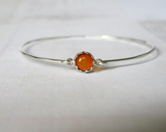 Thin hammered amber bangles-Delicate amber bracelet-stacking bracelet-dainty silver bangle-genuine amber bangle
