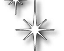 Memory Box Steel Craft Die  Made in USA 100% Steel Craft Die Use on Cardstock Felt Fabric - STAR Of WONDER Dies 98167
