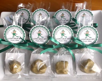 St Patricks Day Party Favors - Gold Nugget Favors, St Patricks Day Soap, Gold Soap, Class Favors, St Patricks Day School Favors - Set of 10