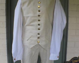 18th Century / Rev War Era Wool Waist Coat
