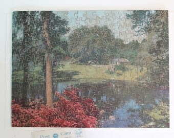 Vintage Puzzle - Complete - Nature's Best - J.K. Straus - Brooklyn NY, Vintage Wood Jigsaw Picture Puzzle