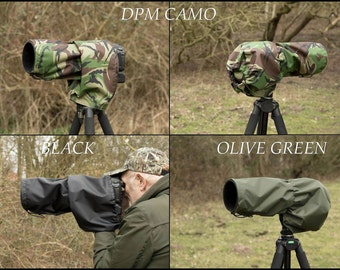 Waterproof Canon 100-400 mm F4-5.6, Camera and Lens Rain Cover with carrying Pouch, Canon Camera & Lens Accessories,