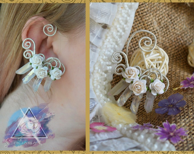 "Ear cuff ""Elvish wedding"" 