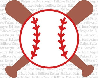 Baseball SVG - Baseball DXF - Baseball Cut Files - Sports Cut Files - Sports svg - Sports dxf