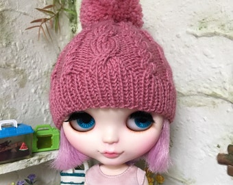 Cabled Hat for Blythe