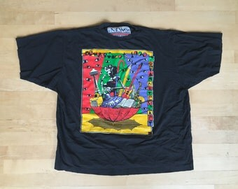 1990 Bumbershoot Concert Tee 20th Anniversary Seattle XL Size BIG