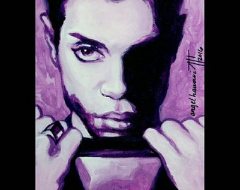 Prince, The Hits 2, Prince Rogers Nelson, tribute portrait, Purple Rain, Prince of Pop, American singer songwriter, pop legend