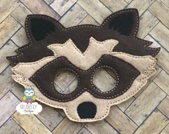Wolf Mask, Kids Dress Up Mask, Wolf Costume Mask, Wool Blend Mask, Felt Wolf Mask, Jungle Party Favor, Monkey Mask