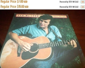 Save 30% Today Vintage 1973 LP Record Don McLean Playin Favorites Excellent Condition United Artists UA-LA661-F