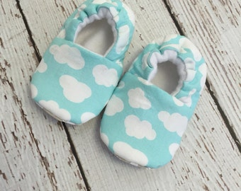 Clouds baby/toddler slippers