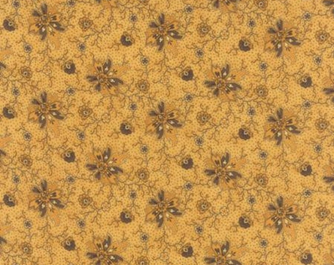 Wild Orchid Passionate Bloom Gold 277114 - 1/2yd