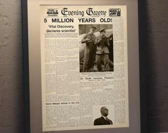 Quatermass and the pit (TV) Fake Newspaper