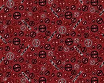 Marvel Fabric Deadpool Fabric From Springs Creative
