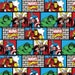 Per Yard, KNIT Marvel Comic Wall Fabric From Springs Creative