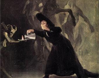 Francisco de Goya-y Lucientes-The Bewitched Man -1798