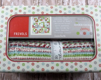 SALE!! Frivol No. 10  Quilt Kit - Sugar - The Cookie Exchange - Sweetwater - Moda