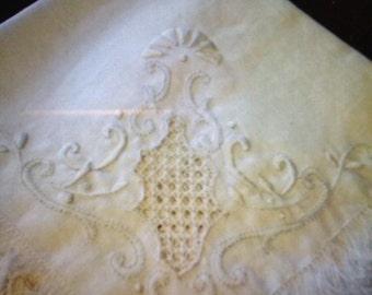 Linen Tea Cloth Extraordinaire with Napkins