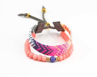 2in1 Neon bracelet.