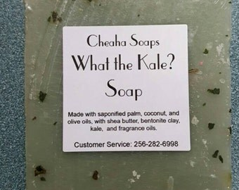 What the Kale? VEGAN soap