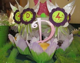 Cupcakes toppers fairy, tinker bell