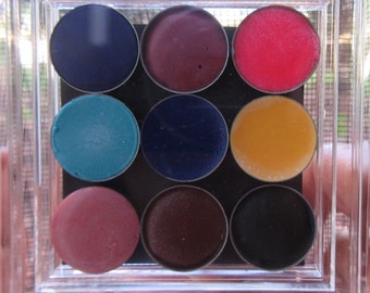Lip cream samples multi colored (butter cream cupcake scented)