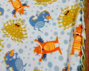 Monster Fleece Blanket
