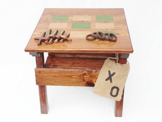 Children s Outdoor Furniture Kids Wood Game Activity