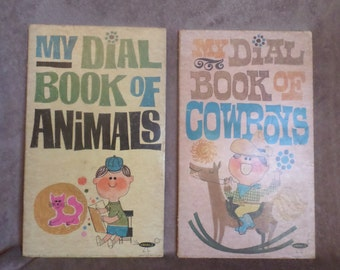 Two Vintage Dee-J Dial Books