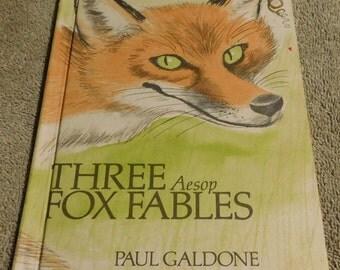 Three Fox Fables by Paul Galdone